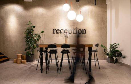 interior design cafe